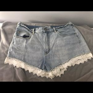 Free People Lace Shorts - Size 31